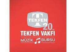 Tekfen'den müzik bursu