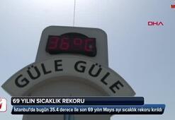 İstanbulda 69 yılın sıcaklık rekoru kırıldı