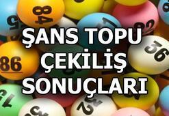 Şans Topu sonuçları açıklandı (29 Mayıs MPİ Şans Topu çekiliş sonuçları sorgulama)