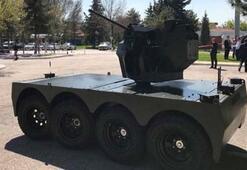 Türkiye, yeni insansız kara aracı Tarantulayı tanıttı