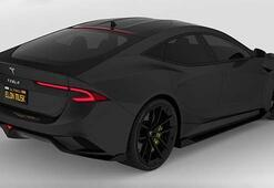 Türk tasarımcının Tesla Model S konsepti görenleri büyüledi