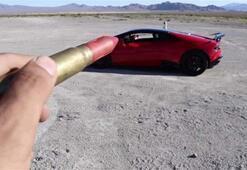Daha çok izlenme için Lamborghini Huracanı tehlikeye attı