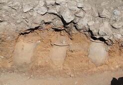 Hattuşa Antik Kentinde 3800 yıllık küpler bulundu
