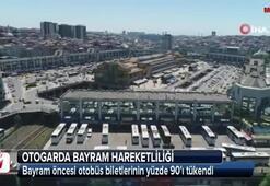 Bayram öncesi otobüs biletlerinin yüzde 90ı tükendi