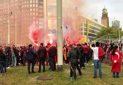 G.Saray şikayeti, Rotterdam'dan döndü