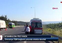 İstanbulda feci kaza Ölü ve yaralılar var