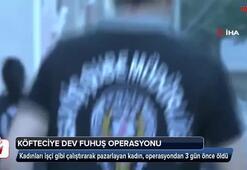 Köfteciye dev fuhuş operasyonu: 25 gözaltı