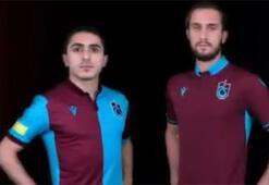 Trabzonspor, yeni sezon formalarını tanıttı