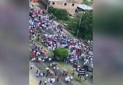 Hondurasta hükümet karşıtı protesto