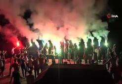 Bursasporlu taraftarlardan buruk kutlama
