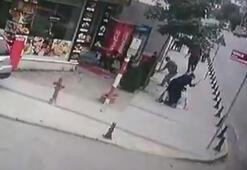 Sokak ortasında şok görüntü Böyle görüntülendiler