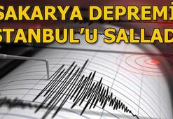 Son depremler Sakaryadan korkutan deprem haberi Son dakika deprem haberleri