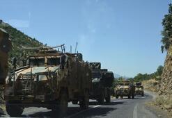 Pençe Harekâtında askeri sevkiyat sürüyor
