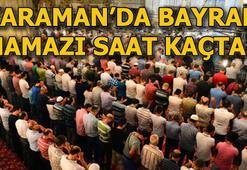 Karamanda bayram namazı saat kaçta kılınacak 4 Haziran Karaman Bayram namazı vakti