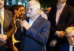 Binali Yıldırım: Yolları böleriz de Türkiye'yi böldürtmeyiz