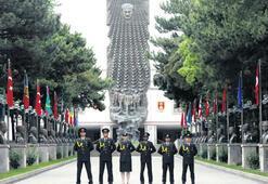 Üç kıtanın subayları Harbiye'de yetişiyor