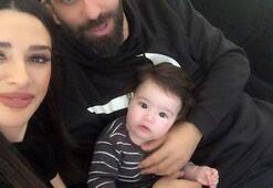 Arda Turan ve Aslıhan ilk kez Hamza Ardanın fotoğrafını paylaştı