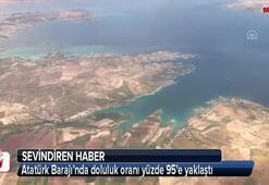 Atatürk Barajında doluluk rekor seviyede