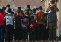 İdlibde bombardıman altında bayram
