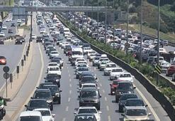 İstanbulda bayram trafiği
