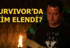 Survivorda bu akşam kim elendi 4 Haziran Survivorda elenen isim...