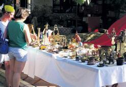 Kazdağları'nda antik pazar