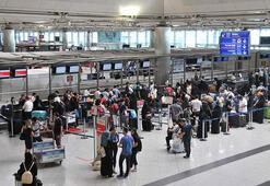 Hava yoluyla 5 ayda yaklaşık 74,2 milyon yolcu taşındı