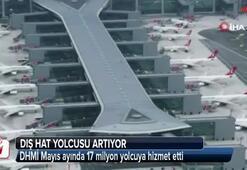 Mayıs ayında 17 milyon yolcu uçtu
