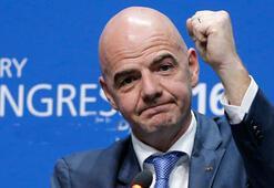 Gianni Infantino yeniden FIFA Başkanı seçildi