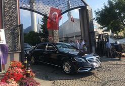 Cumhurbaşkanı Erdoğandan kabir ziyareti