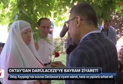 Cumhurbaşkanı Yardımcısı Oktaydan Darülacezeye bayram ziyareti