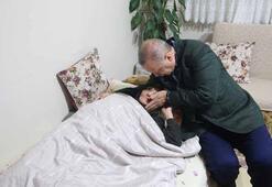 Cumhurbaşkanı Erdoğandan Emekçi ve Soyutürk ailelerine ziyaret