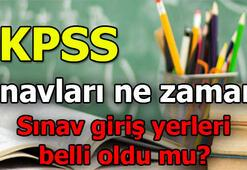 KPSS sınavları hangi tarihte yapılacak 2019 KPSS giriş yerleri...