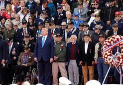 Dünya liderleri Normandiyada