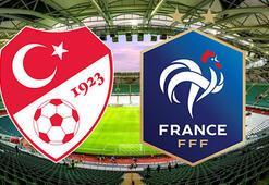Türkiye Fransa maçı ne zaman saat kaçta hangi kanalda canlı yayınlanacak