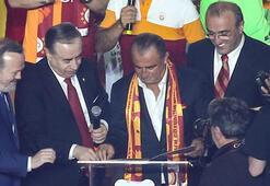 Galatasarayda dev zirve