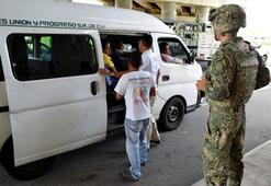 Meksika, Guatemala sınırına asker gönderiyor