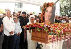 Genç yaşta ölen Derin, gözyaşlarıyla uğurlandı
