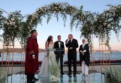 Son dakika | Mesut Özil ile Amine Gülşe evlendi İşte çok özel kareler...