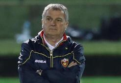 Karadağ Teknik Direktörü Tumbakovic istifa etti