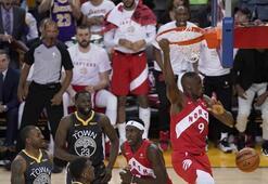 NBA finalinde korkutan an Kanlar içinde...