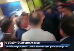 Ekrem İmamoğlunun Ordu - Giresun Havalimanındaki görüntüleri ortaya çıktı