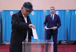 Kazakistanda halk sandık başında