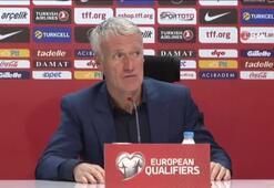 """Didier Deschamps: """"Türkiyeden sağlam bir tokat yedik"""""""