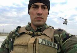 Helikopterden düşerek şehit olan asker toprağa verildi