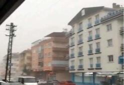 Son dakika: Ankarayı sağanak vurdu Sokaklar göle döndü