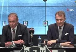 Beşiktaşta Abdullah Avcı 3 yıllık sözleşmeye imza attı