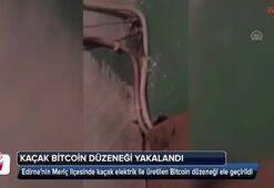 Edirnede kaçak Bitcoin düzeneği ele geçirildi