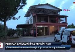 Antalyada intihar