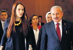 PAB Başkanı Barron Şentop'u ziyaret etti